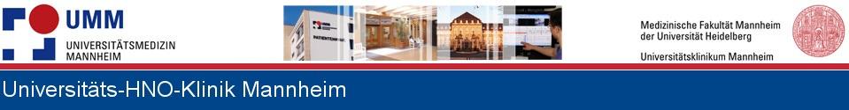 Universitäts HNO-Klinik Mannheim
